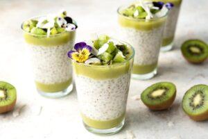 Chia pudding Kiwi