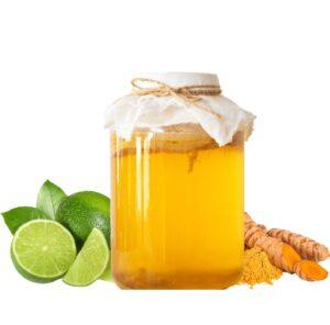 Kombucha Curcuma Citron vert